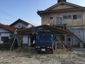 甲田町販売機屋根2
